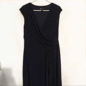 AGB navy formal dress